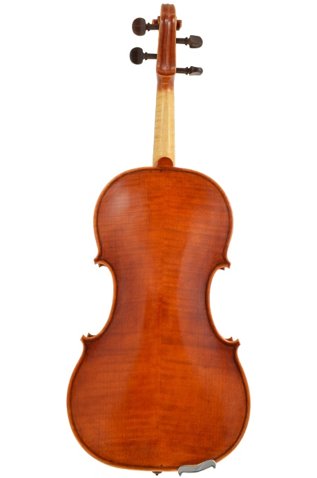 Violin #48 back hand crafted by Ray Leicht
