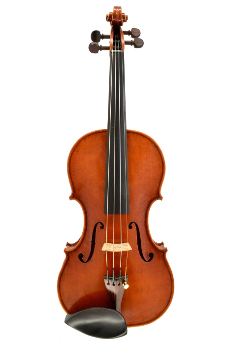 Violin #48 front hand crafted by Ray Leicht