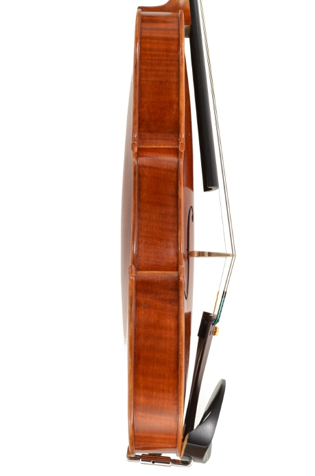 Violin #48 side hand crafted by Ray Leicht