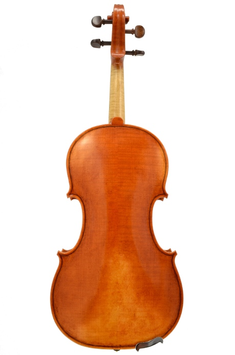 Violin #51 back hand crafted by Ray Leicht