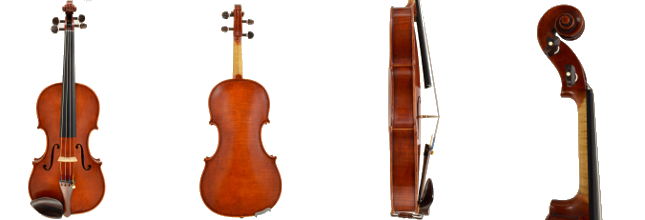 Violin #46 hand crafted by Ray Leicht
