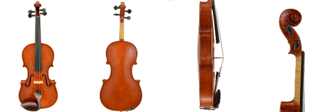 Violin #50 hand crafted by Ray Leicht