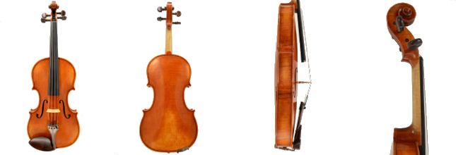 Violin #51 hand crafted by Ray Leicht